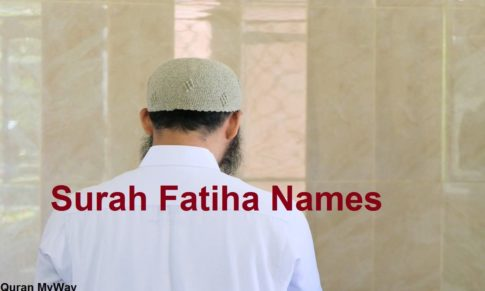 Surah Fatiha Names