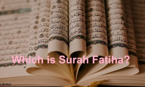 Which is Surah Fatiha?