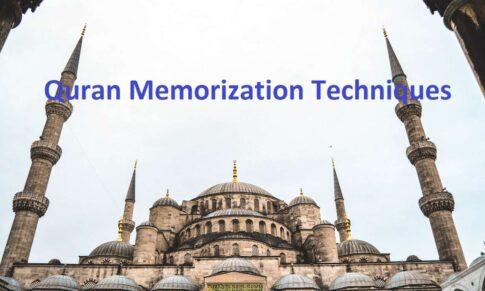 Quran Memorization Techniques