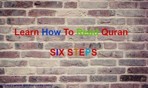 Learn How To Read Quran